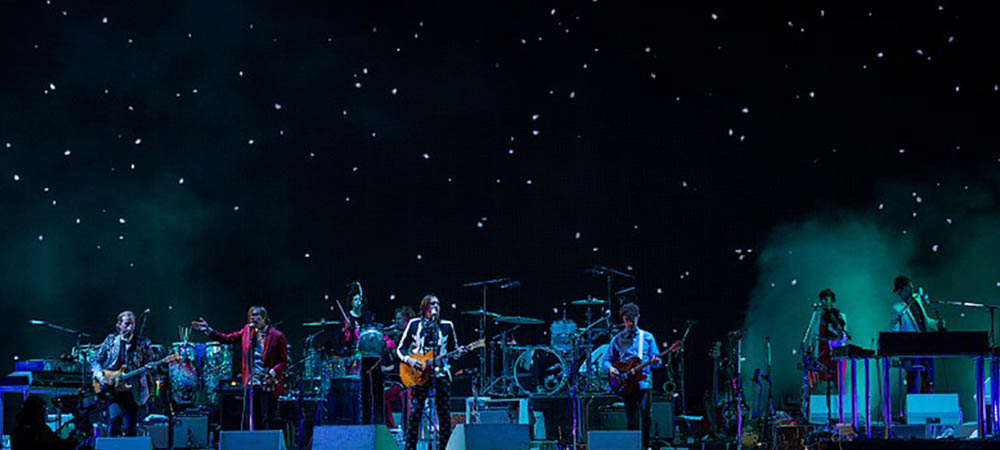 Arcade Fire concert